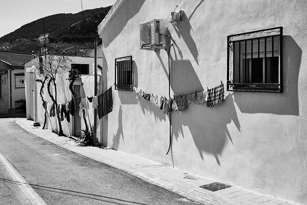 Andalusien, Gasse in Olivares